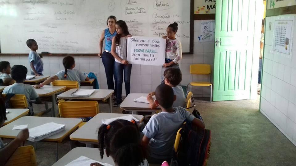 PROVA BRASIL 2017: APLICAÇÃO COM SUCESSO NO MUNICÍPIO DE ANGUERA